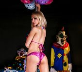 Alix at the clown strip club - Alix Lynx 3