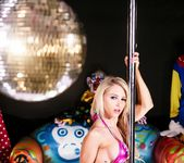 Alix at the clown strip club - Alix Lynx 4