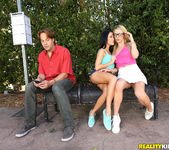Megan Rain, Blake Eden - Bus Stop Lust - We Live Together 3