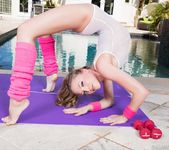 Aubrey Star shows us her exercise routine 7