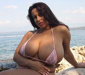 Aneta in mini Bikini on the beach - Aneta Buena 9