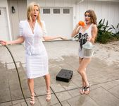Rebel Lynn, Alexis Fawx - Chore Duty Part 2 - Girlsway 2