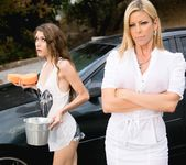 Rebel Lynn, Alexis Fawx - Chore Duty Part 2 - Girlsway 4
