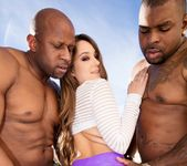 Remy Lacroix Dpd Her Ass Gets Owned By Two Big Black Cocks 10