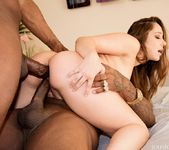 Remy Lacroix Dpd Her Ass Gets Owned By Two Big Black Cocks 12