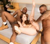 Remy Lacroix Dpd Her Ass Gets Owned By Two Big Black Cocks 21