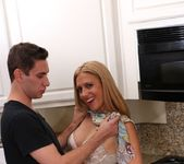 Housewife Cheats On Her Husband In Her Kitchen 2
