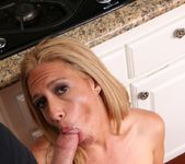 Housewife Cheats On Her Husband In Her Kitchen 8
