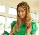 Natalia Forrest - Natalia Green Dress - Hayley's Secrets 3