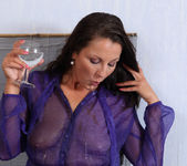 Nasty Valentina gives herself a pee enema - Wet and Pissy 2
