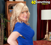 Dawn Jilling - Devil In A Blue Dress - 40 Something Mag 2