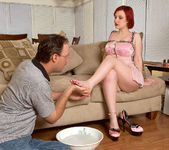 Angelica - Pink Toes - Leg Sex 6
