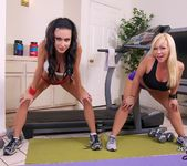 Training Day With Jaymes - Jessica Jaymes hot trainer Austin 2