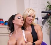 Training Day With Jaymes - Jessica Jaymes hot trainer Austin 5