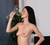 Piss play and drinking for stunning babe - Wet and Pissy 14