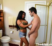 Alix and August fuck their Plumber 4