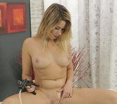 Wet and Puffy - Gorgeous blonde toys her tight ass 10