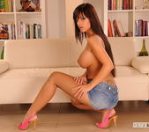 Black Angelika - Footsie Babes 4
