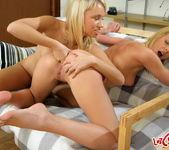 Alisa & Questa Toying Lesbians - Lez Cuties 17