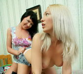 Orina & Amira Eating Pussy - Lez Cuties 3