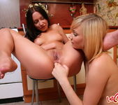 Lesbian Action with Amber & Gianna - Lez Cuties 16