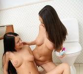 Frisky & Dalila Toying Lesbians - Lez Cuties 10