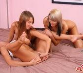 Dirty Lesbians Peggy, Natalia & Tanita in a Threesome 11