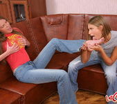 Kelly & Natalia Hardcore Lesbians - Lez Cuties 2