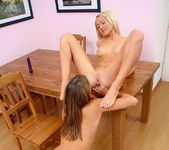 Horny Lesbians Natalia & Iris - Lez Cuties 16