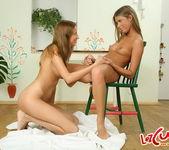 Natalia & Becky Toying Lesbians - Lez Cuties 8