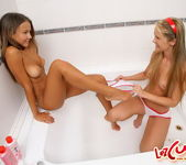 Charlene & Bailey Eating Each Other Out - Lez Cuties 4