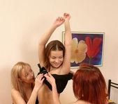Pussy Licking Threesome with Devora, Eileen & Ruby 13