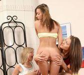 Lesbian Threesome with Breana, Priscilla & Yvonne - Lez Cuti 15