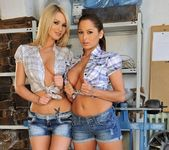 Horny Lesbian Threesome with Alison Star, Antonya & Patricia 2