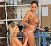 Horny Lesbian Threesome with Alison Star, Antonya & Patricia 15