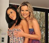 Samantha Jolie & Angelica Kitten Playing Lesbians 2