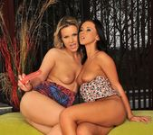 Samantha Jolie & Angelica Kitten Playing Lesbians 20