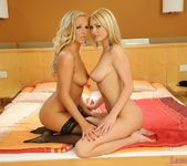 Lesbian Action with Antonya & Barbie White - Lezbo Honeys 20