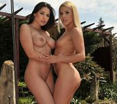 Lesbian Threesome Action with Sophie Moone, Zafira & Brandy 6