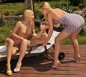 Lesbian Threesome Action with Sophie Moone, Zafira & Brandy 17