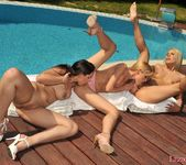 Lesbian Threesome Action with Sophie Moone, Zafira & Brandy 22