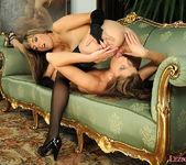 Lesbian Sex with Eliska & Mellie - Lezbo Honeys 13
