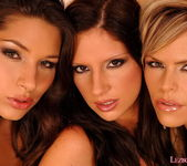 Horny Lesbians Bambi and Zafira and Wivien - Lezbo Honeys 2