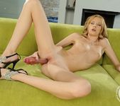 Angel Hott & her giant vibrator 9