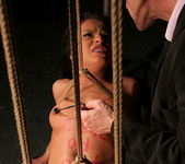 Albertina getting roped and assfucked 11