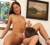 Teen FFM Threesome with Kelsie & Kamilla 15
