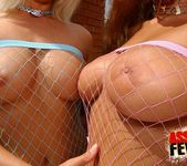 Fishnet Anal Threesome with Niki Montana & Trisha 2