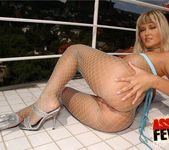 Fishnet Anal Threesome with Niki Montana & Trisha 9