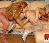 Fishnet Anal Threesome with Niki Montana & Trisha 11