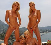 Lesbian Foursome with Sandy, Sophie, Jasmin and Cherry Jul 14